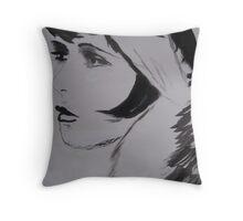 Clara Bow Throw Pillow