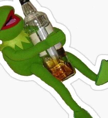 Kermit Unleashed Sticker