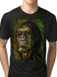 DEAD BLIND Tri-blend T-Shirt