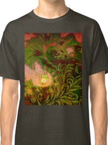 Tahitian Sunrise sultry tropical Fall fantasy dreamscape Classic T-Shirt