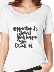 Opportunity Women's Relaxed Fit T-Shirt