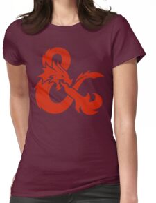 Dungeons & Dragons Womens Fitted T-Shirt