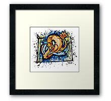 Beautiful Shiny Milotic Tshirts + More ' Pokemon ' Framed Print