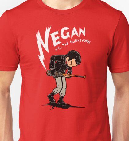 Negan versus the survivors Unisex T-Shirt