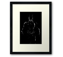 The Dark Knight 2 Framed Print