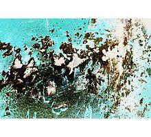 Impact #1 - Blue Photographic Print
