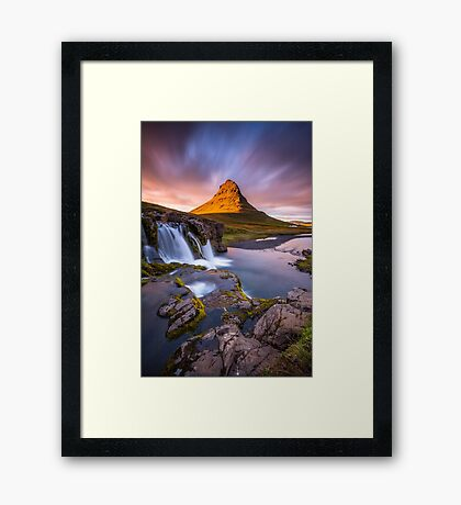 water is the driver of nature Framed Print