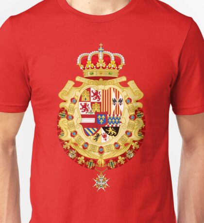 Coat of Arms of Spain under King Philip V Unisex T-Shirt
