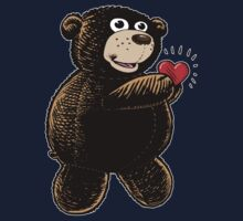 Bear with Heart Kids Clothes
