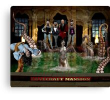 LOVECRAFT MANSION Canvas Print