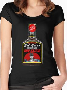 GEIN BBQ SAUCE Women's Fitted Scoop T-Shirt