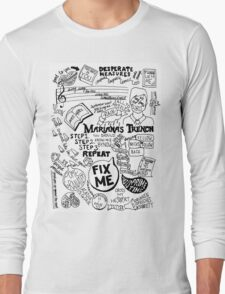 Marianas Trench Long Sleeve T-Shirt