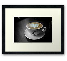 Storyville Latte  Framed Print