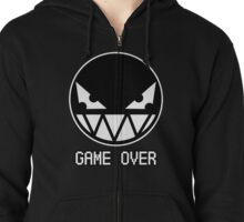 GAME OVER Zipped Hoodie