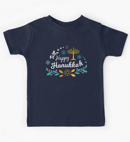 Happy Hanukkah Kids Tee