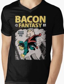 Bacon Fantasy #15 Mens V-Neck T-Shirt