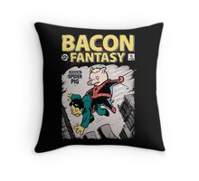 Bacon Fantasy #15 Throw Pillow