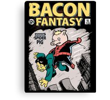 Bacon Fantasy #15 Canvas Print