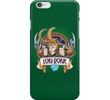 Loki-Dokie iPhone Case/Skin