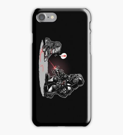 Cat-At Loves Lasers! iPhone Case/Skin