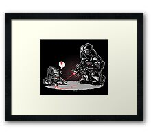 Cat-At Loves Lasers! Framed Print