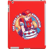 The Cake is a Euphemism iPad Case/Skin