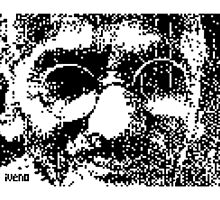 Mahatma Gandhi by iveno