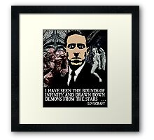 LOVECRAFT DEMONS Framed Print