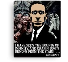 LOVECRAFT DEMONS Canvas Print