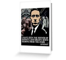 LOVECRAFT DEMONS Greeting Card