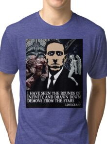 LOVECRAFT DEMONS Tri-blend T-Shirt