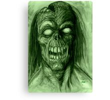 BLIND DEAD Canvas Print