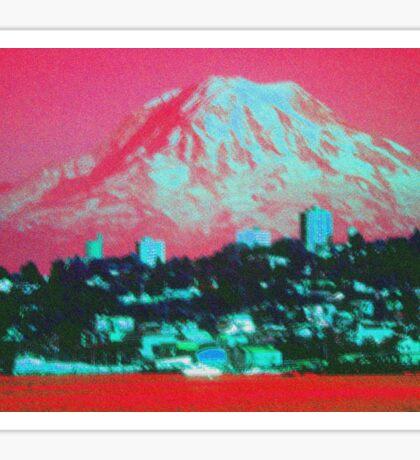 Rainier Seattle  Sticker