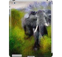 Uganda: Slick Ivory iPad Case/Skin