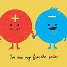 You are my favorite proton by Budi Satria Kwan