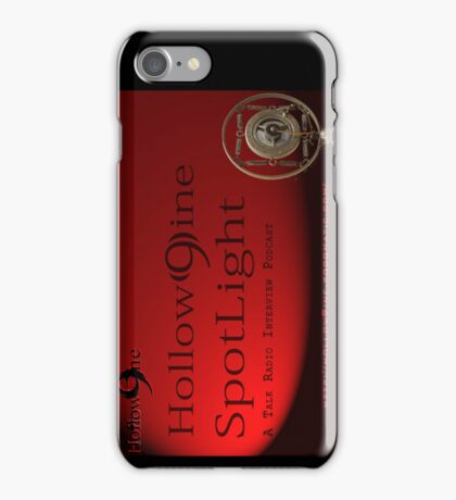 Hollow9ine_Spotlight Interview Podcast iPhone Case/Skin