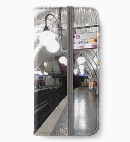 Cité  Metro Station - Paris. iPhone Wallet/Case/Skin