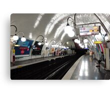Cité  Metro Station - Paris. Canvas Print