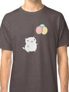 Cute Cat With Balloon Classic T-Shirt