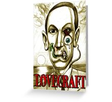 LOVECRAFT DREAMS Greeting Card