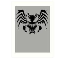 Rorschach Symbiote Art Print