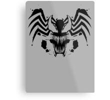 Rorschach Symbiote Metal Print