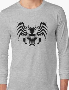 Rorschach Symbiote Long Sleeve T-Shirt