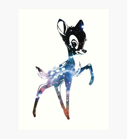 Space Bambi | Thor's Helmet Nebula Art Print
