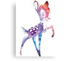 Space Bambi   Rosette Nebula Canvas Print