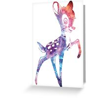 Space Bambi | Rosette Nebula Greeting Card