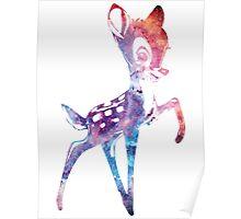 Space Bambi | Rosette Nebula Poster