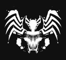 Rorschach Symbiote black Kids Tee