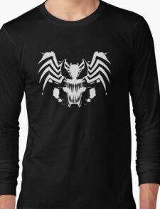 Rorschach Symbiote black Long Sleeve T-Shirt