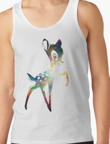 Space Bambi | Heart of Omega Nebula Tank Top